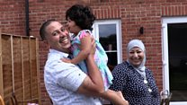 Syrian refugees 'happy and safer in the UK'