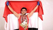 وفاة بطل أولمبي يمني في الكونغ فو غرقا في محاولته الهجرة إلى أوروبا