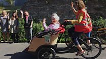 Riding on a trike is 'like being young again'