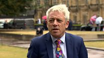 Bercow: Parliament to return on Wednesday