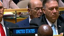 Trump's UN speech appears to put some to sleep