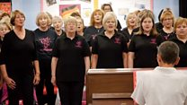 'The choir that saved my life'