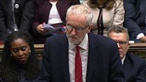Corbyn: 'Dangerous PM' Johnson 'not fit for office'