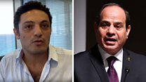 The man sparking dissidence in Egypt