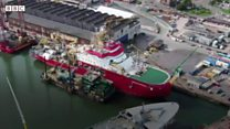 Sir David Attenborough research ship named
