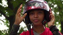 بنگلہ دیش کی خواتین بائیکرز