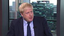Johnson: 'I've been the model of restraint'