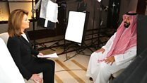 'Did you order the murder of Jamal Khashoggi?'