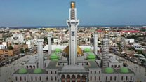 Take a look around 'West Africa's biggest mosque'