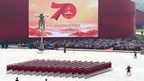 Así fue el desfile militar de China por el 70 aniversario de la llegada del Partido Comunista al poder