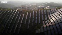 Китай швидко вкривається сонячними фермами