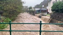 Severe flooding hits the Isle of Man
