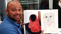 Artist creates unique pet portraits