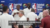 Un géant sénégalais en NBA