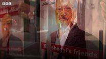 カショジ記者殺害から1年、今も正義を求める声