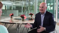 Unilever boss, Alan Jope, says his firm is cutting back on plastic to stay relevant