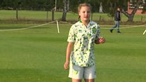 'How my new insulin pump lets me play football'