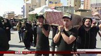عراق کې له تاوتريخوالي ډک احتجاجونه