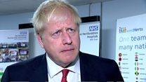 Johnson responds to diplomatic immunity row