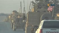US troops leave Syria-Turkey border area