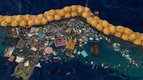 Como funciona o projeto que tenta acabar com a 'ilha de lixo' do Pacífico