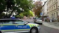 Heavy police presence after Germany shooting