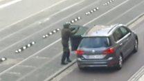 Мужчина, открывший стрельбу в немецком Галле. Видео