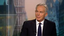 Blair: Election 'wrong way' to settle Brexit