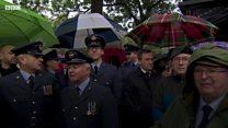 Hundreds attend RAF veteran's funeral