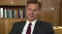 Hunt: 'The EU don't understand British politics'