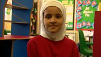 Syrian refugee children embrace love of Welsh