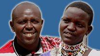 'My husband the vegetarian Maasai'
