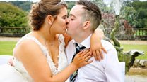 Dying man marries 'love of his life'