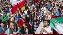 အီရန်မှာ အမျိုးသမီးတွေကို ပထမဆုံးအကြိမ် ဘောလုံးပွဲ ကြည့်ခွင့်ပြု