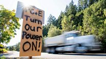 Californians cope with mass power cuts