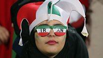 بالفيديو: إيرانيات في الاستاد للمرة الأولى منذ عقود