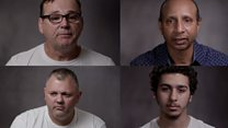 The men who have lost loved ones to knife crime