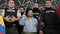 Ecuador police hostages released
