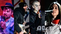 Russian rappers battle police over protests