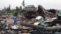 Typhoon is biggest to hit Japan in decades