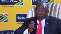 Ramaphosa: 'South Africans don't hate foreigners'