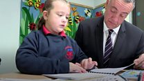 Schoolgirl's Braille books made by prisoners