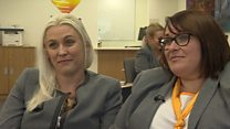 Former Thomas Cook staff back at work