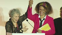 Booker Prize shared by Atwood and Evaristo