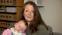 Cancer survivor's joy at breast milk donations