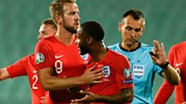Racist abuse of England stars 'utterly disgusting'