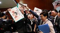 2019施政报告:林郑月娥为何无法在立法会宣读报告?