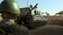 Turkey presses on with Syria military offensive