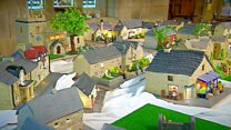 Welcome to the village made from cake