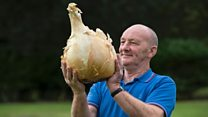 'I'm obsessed with growing giant veg'